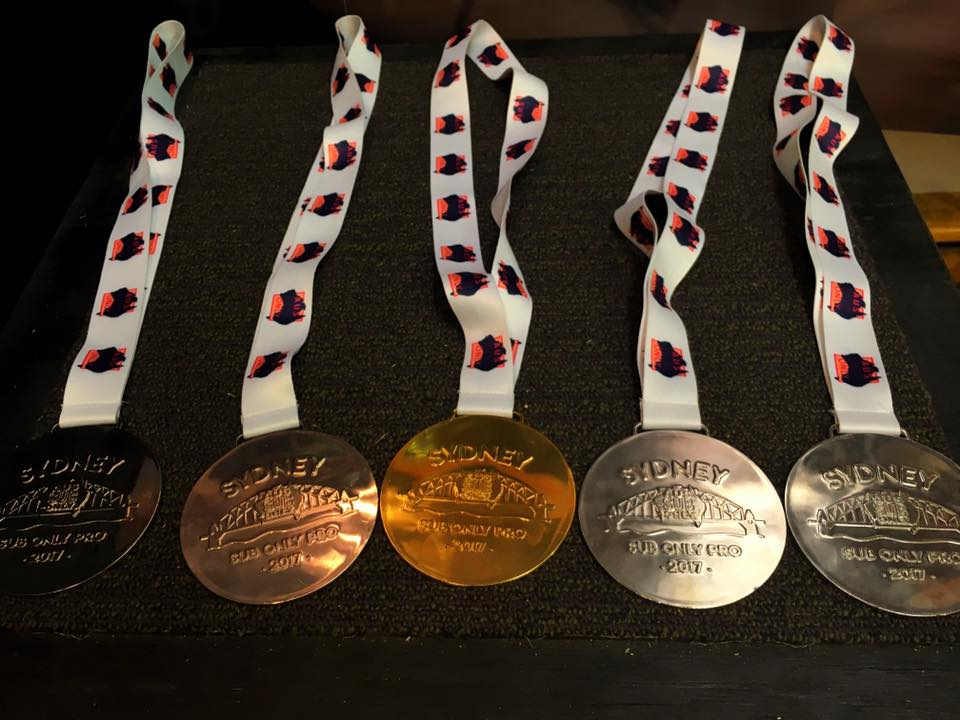 bjj tournament medals