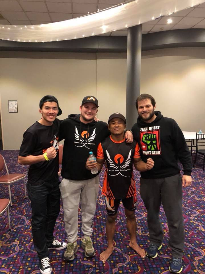 Chanthou Sin remains undefeated in MMA