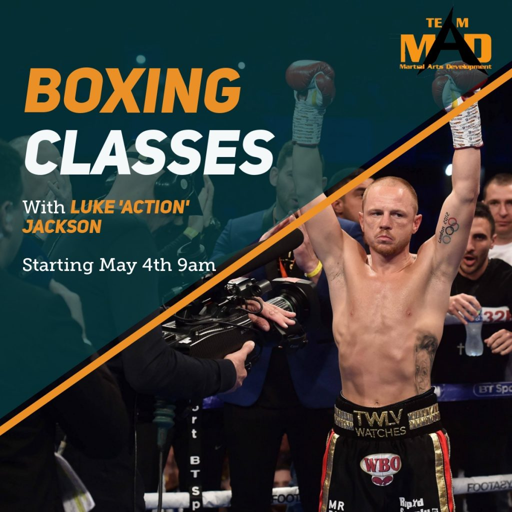 Boxing Classes in South West Sydney with Luke Jackson.