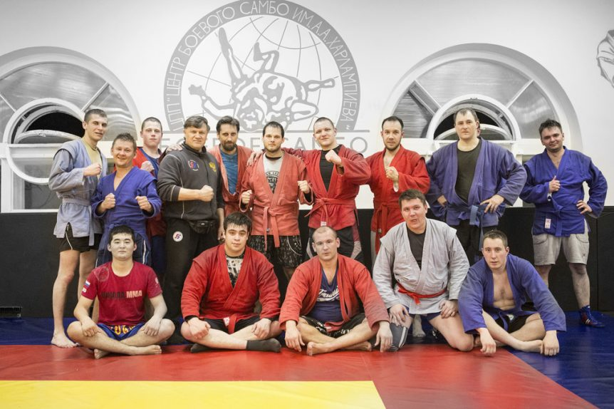 Combat Sambo class Moscow Russia