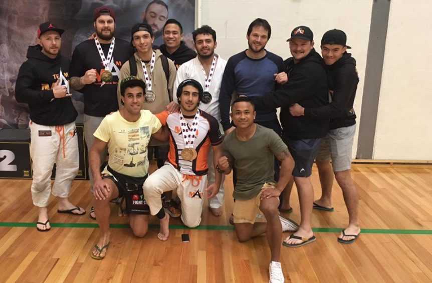 Martial Arts Development BJJ team September 2017