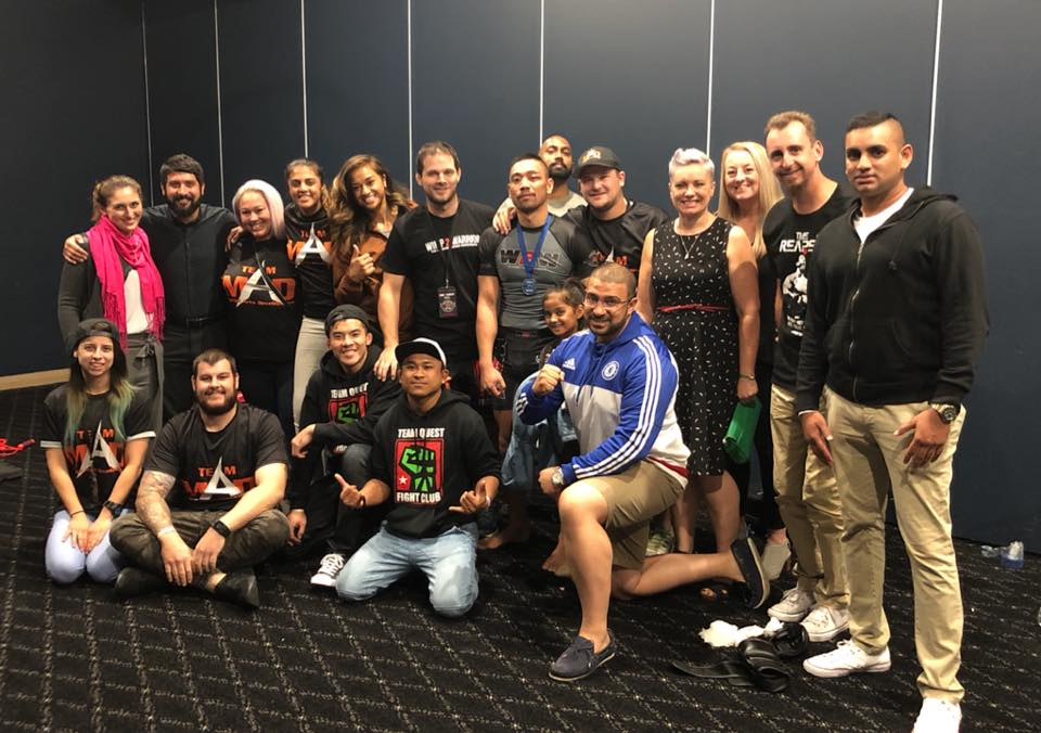 mma team canberra