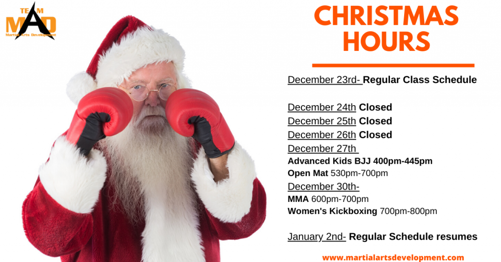 end of year mma hours 2019